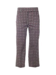 DONDUP Dondup Printed Cropped Trousers. #dondup #cloth #pants-shorts