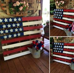 Hey Friends, I have a friend who is making and selling these cute Stars and Stripes Pallets that would be so perfect as decorations for The 4th of July, Memorial Day, and Labor Day. Let me know if you would like her contact information. I think they would be so cute to hang on a barn, porch or gazebo!