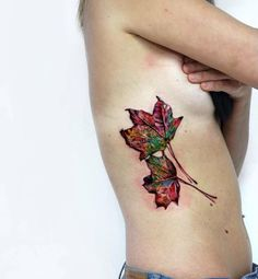 Autumn Leafs Tattoo