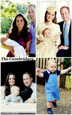 Prince George's official portraits.
