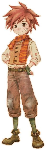 Fritz from Harvest Moon Story of Seasons