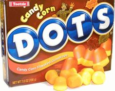 Candy corn DOTS. | 19 Foods That Are Probably Sad That They Exist