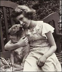 young princess elizabeth - She has had Corgis throughout her life, and looking through pictures says a lot about how her pups set the standard for breeding.  I have two Corgis from different breeders - one is compact and muscular, the other is long and large with huge ears!