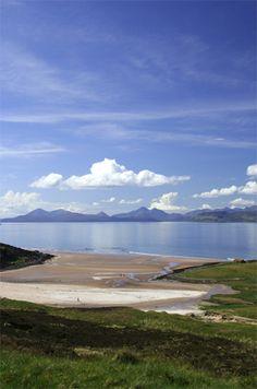 Cullin Mountains, Isle of Skye, Scotland.