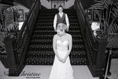 first look Beautiful Chicago Iowa Wedding Bride Groom Vintage   Nicole Christine Photography