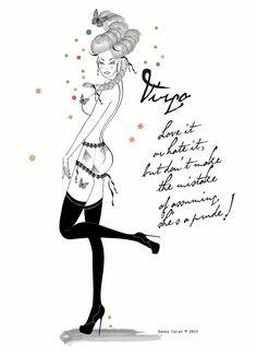 Virgo Vergine Limited Edition Zodiac Danny by DannyCaranStudio