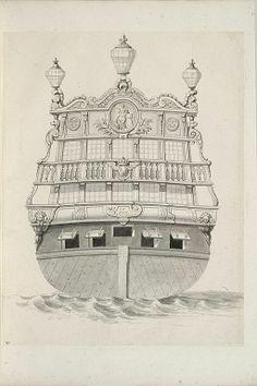 Jean Bérain (1640-1711) – Vaisseau: Le Fidèle – Paris, Musée du Louvre
