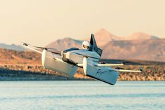 Kitty Hawk Electric Solo Flyer Kitty Hawk Electric Solo Flyer No pilot's license required for this compact flying vehicle. Go to Source Author: Mike Bitanga… drwong. Kitty Hawk Flyer, First Flying Car, Ultralight Plane, Lowest Airfare, Pilot License, Flying Vehicles, Larry Page, Bike Design, Auto Design