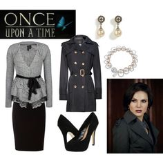 Once Upon a Time, Regina Mill and the Evil Queen http://sparkleonandwearbows.wordpress.com/2012/02/06/once-upon-a-time-regina-evil-queen/