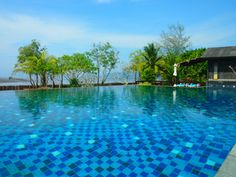 The pool in Koh Klang - what a view! Thailand Nov'14