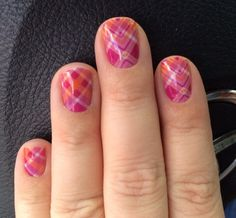 Prissy Plaid Jamberry nail wraps.     Shop for over 300 designs at www.amybaldwin.jamberrynails.net Amy Baldwin, Independent Consultant