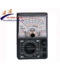 Hioki 3030-10 là một đồng hồ vạn năng chuyên để đo điện áp , dòng điện, điện trở , với xây dựng mạnh mẽ mà chịu được giảm 1 mét xuống sàn bê tông. với cầu chỉ bảo vệ hiệu quả cao lên tới 50,000 A. Các tính năng thích hợp với các tiêu chuẩn an toàn như bảo vệ chống lại thoáng qua điện áp lên đến 250 V AC , ngăn ngừa tai nạn điện giật  trước khi nó có thể xảy ra.