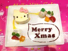 渋谷パルコの期間限定「ハローキティカフェ」ケーキ