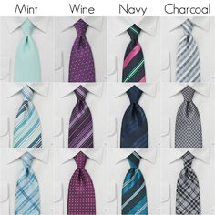 Kennedy Blue Mix and Match Ties