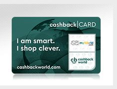 Sign up for free!!!   Shop with Cashback World and benefit from Cashback and Shopping Points with every purchase. Countless exciting offers and Deals await!