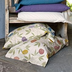 Celina Percale Bedding, Plum sheets from this set.  The Rest for top and bottome