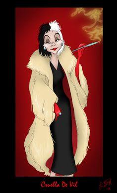 Cruella+De+Vil+by+Sammybunny711.deviantart.com+on+@deviantART