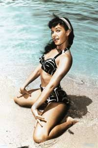Bettie Page=adoration!