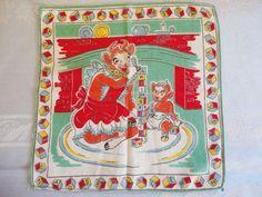 Borden's Dairy Handkerchief Elsie the Cow & by preservinghome