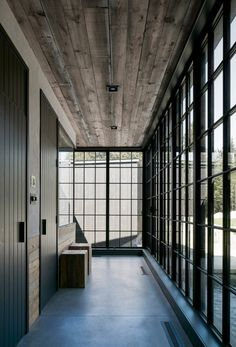 House by Alain Carle Architecte – Architecture Architecture Résidentielle, Deco Design, House In The Woods, House Tours, Future House, Interior And Exterior, Interior Decorating, Interior Design, New Homes