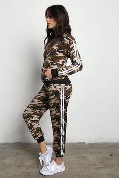 Trendy Plus Size Clothing & Junior Clothing Athleisure Trend, Athleisure Fashion, All In One, Make Your Own, Camo, Joggers, Contrast, Sporty, Stylish
