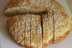 healthy and easiest bread, from allrecipes.com Whole Wheat Quick Bread Recipe, Quick Bread Recipes, Easy Bread, No Yeast Bread, Bread Baking, Baking Soda, Oatmeal Bread, Bulgarian Recipes, Bulgarian Food