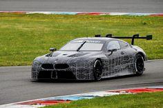 BMW M8 GTE auf dem Lausitzring (Foto: Hersteller)