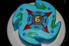 Beyblade birthday decorations beyblade cake decorating for Anime beyblade cake topper decoration set