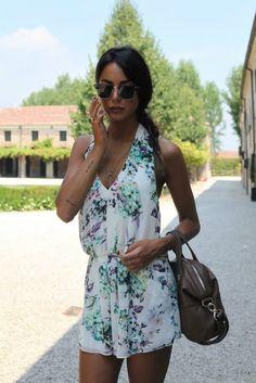 Chiara Biasi summer jumpsuit