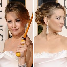 Red Carpet Wedding Hairstyles. Kate Hudson at the 2010 Golden Globes