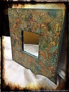 _lDROS6BqK0 (451x604, 264Kb) Mosaic Crafts, Mosaic Art, Wallpaper Nature Flowers, Antique Picture Frames, Mixed Media Scrapbooking, Sculpture Painting, Cardboard Crafts, Assemblage Art, Craft Night