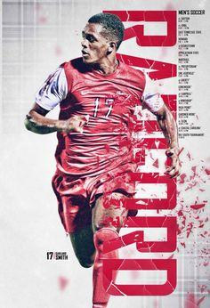 2015 Radford Men's Soccer Poster