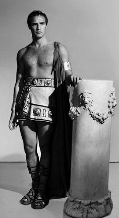 Marlon Brando as Mark Antony, Julius Caesar Marlon Brando Superman, Marlon Brando Children, Marlon Brando Eye Roll, Marlon Brando Wife, Marlon Brando James Dean, Godfather Quotes, Hollywood Stars, Classic Hollywood, Tv Shows