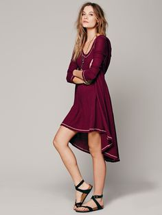 Free People Comfy Hooded Dress, $88.00