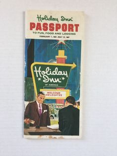 Holiday Inn Passport to fun and Lodging Feb May 1967 Hotel Booklet Guide America