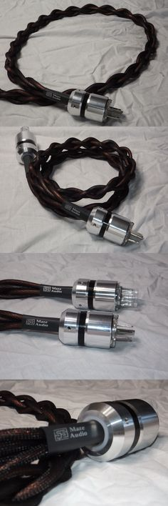 Audio Cables and Interconnects: Maze Audio Ref4 Billet G Alloy 4Ft Ac Power Cord 10 Ga Gaofei Audiophile -> BUY IT NOW ONLY: $181.01 on eBay!