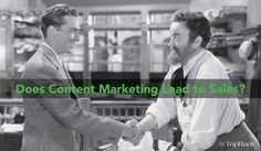 Is #ContentMarketing a Viable Lead Generation Tactic? | by @NiteWrites | #Blogging | by Joshua Nite for Top Rank Marketing Blog | Learn how to attract, engage, and convert your audience into leads through the strategic use of high-quality content.