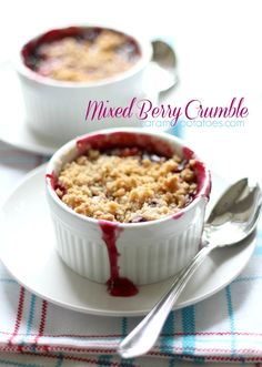 Mixed Berry Crumble!!