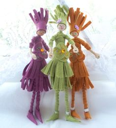 Art Dolls and Miniatures  Autumn Fairy Doll  by WhisperingOak, $15.00