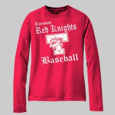 Toronto Baseball 001 - Youth 100% Cotton Long Sleeve T Shirt