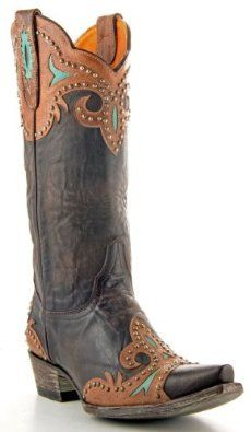 Old Gringo Women's Taka Brown Stud L814-1 Boots