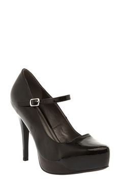 6212d59d730 Black Patent Mary Jane System Heels (Wide Width)....cant wait