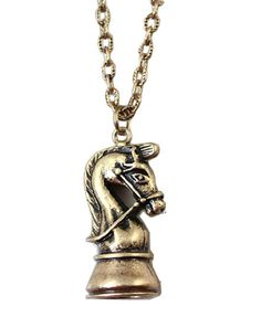 Horse Design Pendant Necklace
