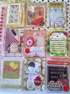 Pocket Letter - Recipe Theme by Christina Betts