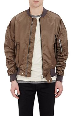 FEAR OF GOD Ruched-Sleeve Bomber Jacket - Bombers - Barneys.com