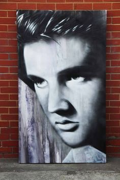✒️ Elvis Presley Canvas 📐 Designed: Painted by Set It Off 📍 Located in Melbourne  To get something similar, let's get in touch..