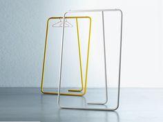 Appendiabiti in acciaio CAIO By Miniforms design Paolo Cappello