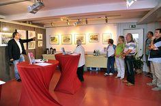 Eröffnung unserer Ausstellung im Atelier Natur des Rostocker Zoos | Bilder, Aquarelle vom Meer & mehr - von Frank Koebsch