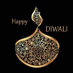 Traditional celebration of happy diwali. Vector illustration of the traditional , Happy Diwali Cards, Happy Diwali Wishes Images, Diwali Greetings, Happy Wishes, Feliz Diwali, Diwali Vector, Good Morning Animation, Diwali Quotes, Happy Ganesh Chaturthi