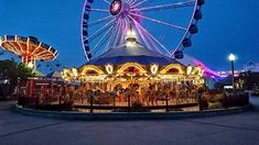 My Route, Carousel, Buildings, Fair Grounds, Chicago, Eye, Travel, Instagram, Viajes